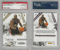 2009 Panini R&S Basketball, #103 Karl Malone, Jazz, PSA 10 Gem