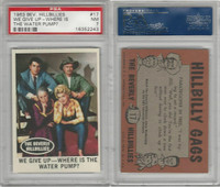 1963 Topps, Beverly Hillbillies, #17 We Give Up-Where Is, PSA 7 NM