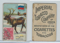 C19 Imperial Tobacco, Mail Carriers & Stamps, 1903, Finland