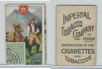 C19 Imperial Tobacco, Mail Carriers & Stamps, 1903, Portugal