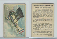 C110 Tuckett Ltd, Tucketts Aviation Series, 1929, #18 Gamecock II