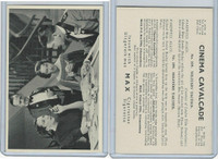W70-1 A&M Wix, Cinema Cavalcade (Large), 1940, #109 Leslie Banks, F Robson