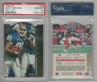 1994 Upper Deck SP Die-Cut Football, #26 Bucky Brooks, Bills, PSA 10 Gem