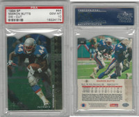 1994 Upper Deck SP Die-Cut Football, #44 Marion Butts, Patriots, PSA 10 Gem