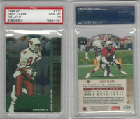 1994 Upper Deck SP Die-Cut Football, #111 Gary Clark, Cardinals, PSA 10 Gem