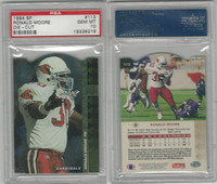 1994 Upper Deck SP Die-Cut Football, #113 Ronald Moore, Cardinals, PSA 10 Gem