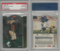 1994 Upper Deck SP Die-Cut Football, #152 Lewis Tillman, Bears, PSA 10 Gem