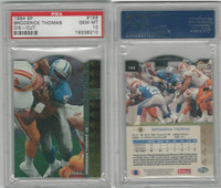 1994 Upper Deck SP Die-Cut Football, #156 Broderick Thomas, Lions, PSA 10 Gem