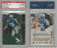 1994 Upper Deck SP Die-Cut Football, #160 Pat Swilling, Lions, PSA 10 Gem