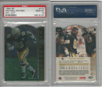 1994 Upper Deck SP Die-Cut Football, #177 Michael Haynes, Saints, PSA 10 Gem