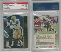 1994 Upper Deck SP Die-Cut Football, #179 Wayne Martin, Saints, PSA 10 Gem