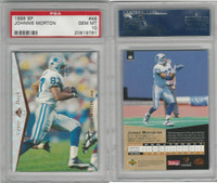 1995 Upper Deck SP Football, #48 Johnnie Morton, Lions, PSA 10 Gem