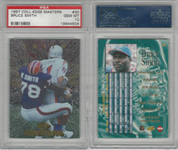 1997 Collectors Edge Masters Football, #30 Bruce Smith, Bills, PSA 10 Gem