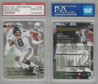 2000 Collectors Edge Graded Football, #146 Mark Brunell, Jaguars, PSA 10 Gem