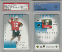 2002 Upper Deck Graded Football, #98 Randy Fasani, Panthers, PSA 10 Gem