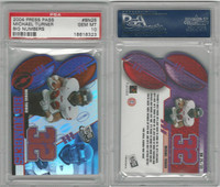 2004 Press Pass Football, #BN25 Michael Turner, Big Numbers, PSA 10 Gem