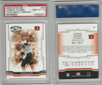 2005 Donruss Throwback Football, #29 Carson Palmer, Bengals, PSA 10 Gem