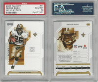 2006 Playoff Football, #71 Reggie Bush, Saints, PSA 10 Gem