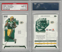 2006 Playoff Football, #127 Greg Jennings, Packers, PSA 10 Gem
