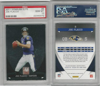 2011 Donruss Elite Football, #8 Joe Flacco, Ravens, PSA 10 Gem