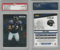 2012 Panini R & S Football, #14 Ray Lewis, Ravens, Longevity, PSA 10 Gem