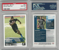 2012 SA-GE Hit Football, #65 Doug Martin RC, Boise State, PSA 10 Gem