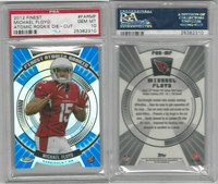 2012 Topps Finest Football, #FARMF Michael Floyd RC, Cardinals, PSA 10 Gem
