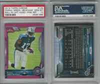 2015 Topps Chrome Football, #106 Dorial Green-Beckham RC, Pink, PSA 10 Gem