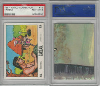 1967 Anglo Confectionery, Tarzan, #15, PSA 8 NMMT