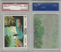 1967 Anglo Confectionery, Tarzan, #16, PSA 8 NMMT