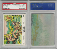 1967 Anglo Confectionery, Tarzan, #17, PSA 8 NMMT