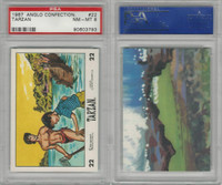 1967 Anglo Confectionery, Tarzan, #22, PSA 8 NMMT