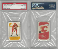 1982 Post Cereal Hockey, #17 Jamie Hislop, Flames, PSA 10 Gem