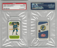 1982 Post Cereal Hockey, #26 Mike Crombeen, Blues, PSA 10 Gem