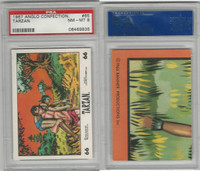 1967 Anglo Confectionery, Tarzan, #65, PSA 8 NMMT