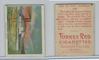T72 Turkey Red, Hudson - Fulton Series, 1909, The De Witt Clinton