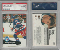 1991 Pro Set Hockey, #549 Doug Weight RC, Rangers, PSA 10 Gem