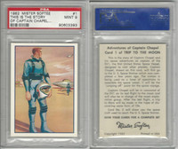 F71 Mister Softee, Adventures Of Captain Chapel, 1962, #1, PSA 9 Mint