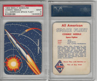 UO67 Skelly Gasoline, All American Space Fleet, 1953, Cosmic Needle, PSA 9