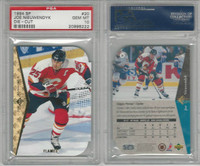 1994 Upper Deck SP Hockey, #20 Joe Nieuwendyk, Flames, Die-Cut, PSA 10 Gem