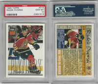 1995 Topps Hockey, #319 Radek Dvorak RC, Panthers, PSA 10 Gem