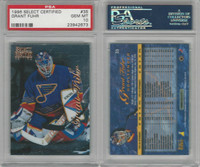 1996 Pinnacle Select Certified Hockey, #35 Grant Fuhr, Blues, PSA 10 Gem