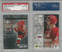 1998 Upper Deck Black Diamond Hockey, #105 Denis Arkhipov, Russia, PSA 10 Gem