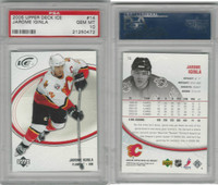2005 Upper Deck Ice Hockey, #14 Jarome Iginla, Flames, PSA 10 Gem