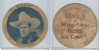 F5-1 Dixie Cup, 1935, Movie Stars, Ken Maynard, Santa Fe, (Large)