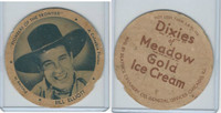 F5-6 Dixie Cup, 1940, Movie Stars, Bill Elliott, Pioneer of Frontier (Large)
