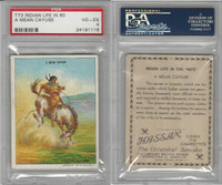 T73 Hassan, Indian Life, 1910, A Mean Cayuse, PSA 4 VGEX