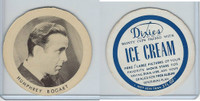 F Card Dixies Ice Cream, Movie Stars, 1970's, Humphrey Bogart