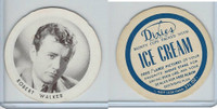 F Card Dixies Ice Cream, Movie Stars, 1970's, Robert Walker