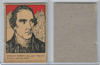 F278-50 Post Cereal, Famous North Americans, 1930's, Patrick Henry